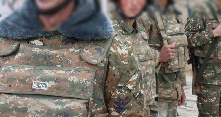 զինվորներ