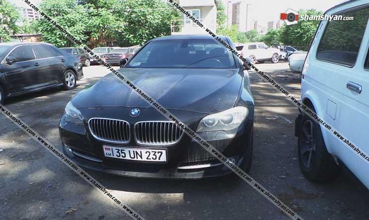 Արսեն Թորոսյանի մեքենա
